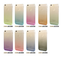 Fashion gradient color frosted tpu case for iphone 6 , for iphone6 tpu case