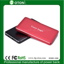2014 newest high quality polymer battery 8000mAh portable power bank