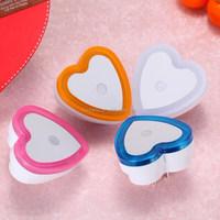 Heart shape LED light control small night light for children