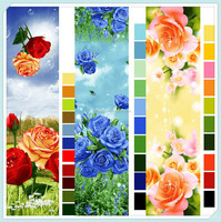 flowers print100% polyester bulk polyester fabric disperse printing fabric for bedsheet from changxing rong