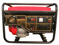 6KW 100% copper Gasoline Generator Set with handle and wheel