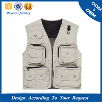 2015 wholesale popular photographer vest jacket