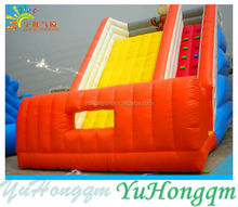 Exciting High Inflatable Slide with Climbing Wall for Kids and Adults