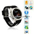 Ultrathin LCD HD 1.6 inch unlocked touch screen watch mobile phone low cost phone