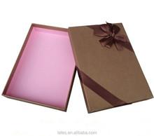 Custom packaging for weave hair packaging black box with purple logo