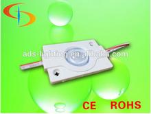 LED light box edge lighting1.5w led module high power backlight dc12v led module lighting for signmodule with lens light box