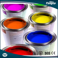 Flexo solvent based optical variable security printing ink