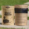 Custom Kraft paper foil lined coffee bag/250g Valve side gusseted coffee bag