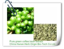 Weight Loss Function and Herbal Supplements Type 100% pure green coffee bean extract fat burner HCA