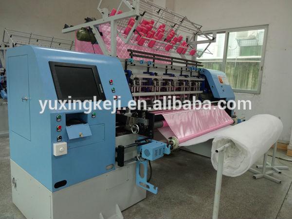 Yuxing máquina colcha colchão para/máquina estofando usado com ce e iso