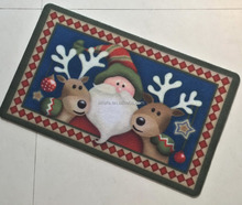 Christmas Custom Design Decoration Home Carpet
