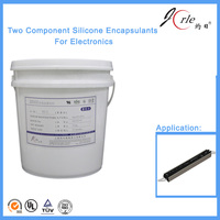organic silicone clear sealer for electric