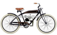 26 inch aluminium gas motor bike gasoline bike moto beach cruiser bike