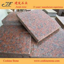 China dark red granite Polished Maple red granite G562 granite
