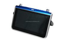 Wholesale 7 inch WIFI analog TV touch screen FM radio portable analog TV support TF card