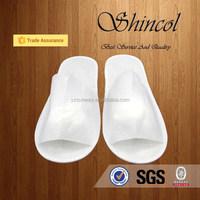 White Open Toe Disposable Hospital Slippers