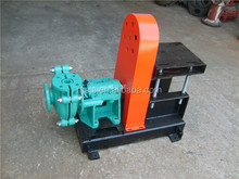 Petroleum industry heavy duty horizontal abrasion resistant ash slurry pump