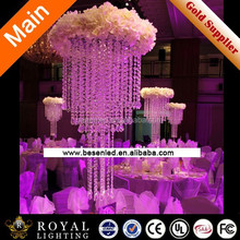 Crystal Wedding Decoration Plastic Chandeliers