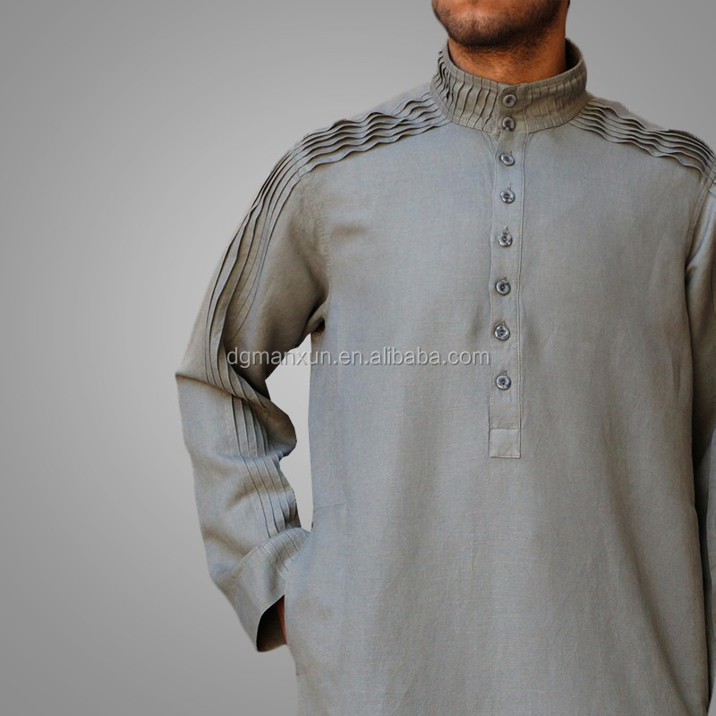 New Arrival Men Robe Muslim Long Thobe Islamic Jubbah4.jpg