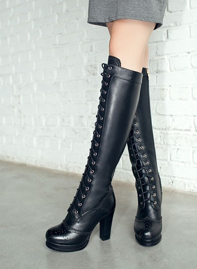 ENMAYER High Quality Sexy Winter Boots Designer Women Thigh High