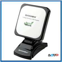980WN 2.4GHz 5800mW 802.11b/g 150Mbps USB 2.0 Wireless WiFi Network Adapter, 60dBi Gain Antenna, Support Network Decoder