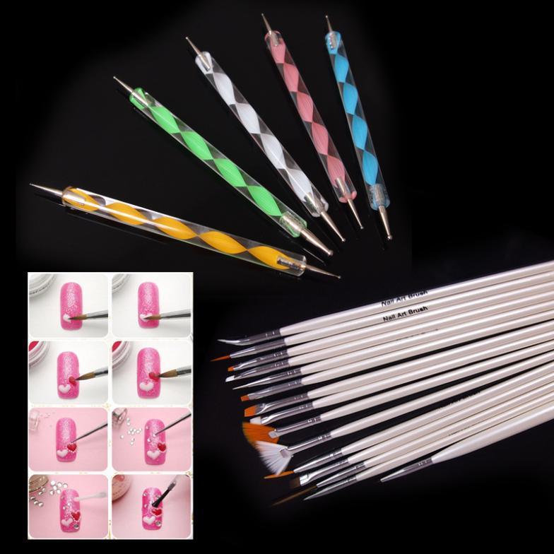 Wholesale Design Painting Dotting Detailing Nail Art Pen Brushes ...