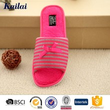 sweet style indoor ladies wholesale china flat shoe