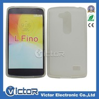 Pudding TPU Case for LG L Fino D290 celulares case