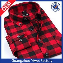 Newest Winter Autumn Cotton Plaid Shirt Men's Dress Shirt