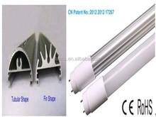 pf>0.98 waterproof fluorescent light fixture 2300lm