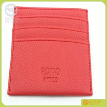 factory price provide card holder ,ID cards protective holder,pu leather fancy id card holder
