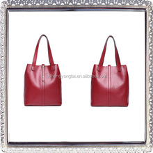 China Supplier alibaba fashion lady smooth leather handbag brands