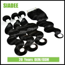22 Years OEM/ODM Siadee Body Wave tangle free synthetic hair weaving