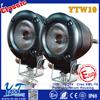 black Energency Strobe Lights Car Motor DirtBike LED Flash Light