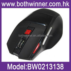Computer optical cordless mouse ,H0T051 2.4ghz usb wireless mouse folding arc mouse , 7 Button cheap wireless mouse