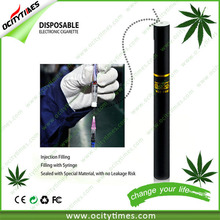 Just refill it directly!!! 2015 US. Market disposable vaporizer with Top refilling device