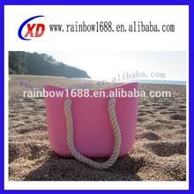 Toptan şeker renk çantası silikon/basit tarzı kauçuk silikon çanta