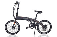 New hidden battery electric Folding bicycle ebike