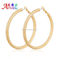 Support small orders have spot wholesale casual atmospheric styles round shapes basketball wives high quality jewelry earring