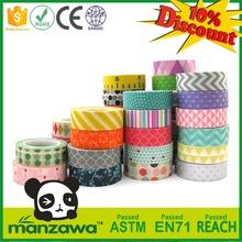 Manzawa decorative packing tape,decorative tape,decorative sticky tape
