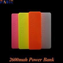 Factory Price Perfume Power Bank 2600mah