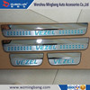 Stainless Steel Illuminated Protector Panel LED Door Sill Scuff Plate for 2014 Honda HRV