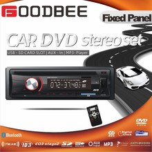 Cheapest Fixed Panel Car DVD player with AM FM Radio RDS ISO Bluetooth Multi color