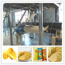 Complete line full automatic potato chips making production line