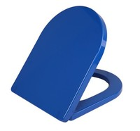 colorful U shape duroplast toilet seat