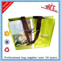 custom photo printing pp woven bag