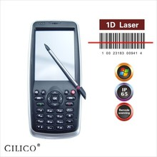 Cost efficiency IOT mobile handheld barcode scanner data collector win mobile 6.5 system active RFID reader