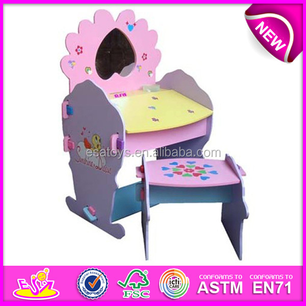 Study table and chair set kids furniture - Wooden Magic Toy Box Studen Desk For Kids Lovely Design