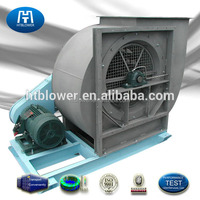China exhaust ventilation centrifugal air fan blower with DC motor