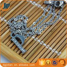 Fashion Letter P Pendant Jewelry